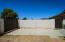 Concrete pad at RV Gate side yard