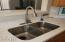 New quartz , deep sink and faucet