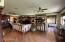 Great room open to kitchen