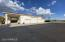 separate 7 car garage with shop and RV parking