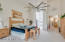 Large Master Suite with High Ceilings