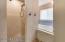 Master shower/ jet tub