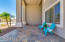 Extended Front Porch w/ Slate Tiles