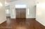 Spacious Living Room.. with Double doors!