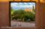 The view literally frames Camelback Mountain dnd the Praying Monk!