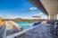 Infinity edge enhances your perception of thhe mountain views