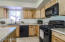 GAS RANGE & UPDATED CABINETS!
