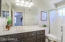 LARGE VANITY WITH OVERSIZED WALK-IN SHOWER