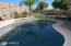 Pool with removable pool fence