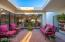 Charming atrium, and perfect area to enjoy out living and star gazing!