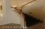 hardwood stairway