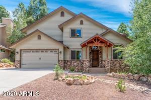 Amazing Custom Home Backing the Coconino National Forests in Ponderosa Trails