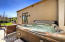 Guest house hot tub on private patio