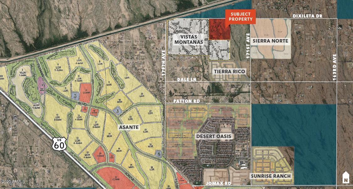 0 Dixileta Drive, Surprise, Arizona 85387, ,Land and Lots,For Sale,Dixileta,6096713
