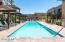 Enjoy a refreshing swim in the community heated pool & spa.
