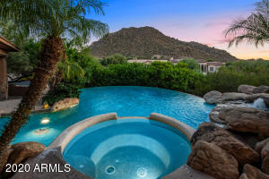 This custom home is located on a premium lot with exceptional views in all directions.