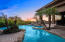 Enjoy entertaining or relaxing from the resort style pool with views.