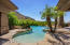 Enjoy this negative edge pool with a shelf entry.
