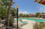 This pool is only used by a few residents and it is within just a few minute walk