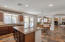 Gourmet Kitchen with Italian Tile and Granite Countertops