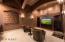 Three tier media room