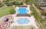 childrens play pool, childrens playground, lighted tennis courts & lap pool