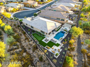 Absolutely spectacular 1 of a kind peninsula golf lot - surrounded by breathtaking unobstructed 180 degree golf & mountain views! Largest lot in development sitting off 7th hole & 8th fairway!