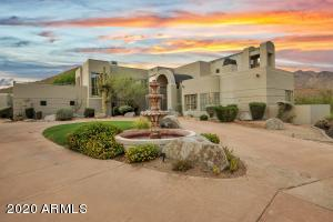 Welcome home to your privately gated estate in North Scottsdale.