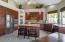Kitchen and corner pantry