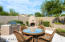 Built in Barbecue and outdoor fireplace / sitting area