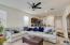 Popular great room floor plan.