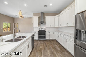 Gorgeous remodeled kitchen! This home will not disappoint!