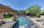 Looking toward the house from far side of pool.