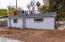 Great possibilities..garage, work shop, casita, there is a full bathroom and kitchen