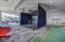Indoor Golf Simulator and Putting Area