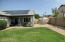 Room to Roam in this grass and desert land scaped yard. Paver patio next to covered patio!