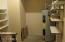 Large Storage Room enclosed at end of Garage