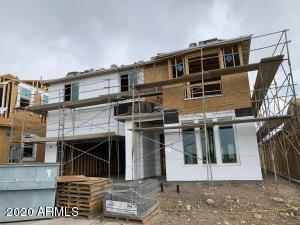 Exterior of home under construction
