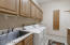 Large Laundry Room with Sink