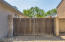 Large RV Gate approximately 16ft between house and fence. Gate size 16.25ft. Seller stored 30' Fifth Wheel behind RV gate!