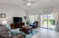 Lovely Living/Family Area with Natural Light