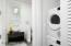 Bosch stackable washer & dryer.