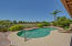 Wow, sit in your pool and enjoy the view of the golf course from this fabulous patio!