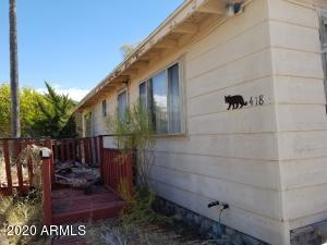 418 S HETZEL Avenue, Mammoth, AZ 85618