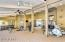 Large Fitness center with state of the art equipment