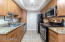 Stainless Steel Appliances with modern cabinetry