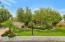 Lush and mature landscape fills this Arcadia lot.