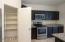 Large corner pantry.
