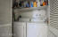 Laundry Room downstairs w/ regular washer & dryer not stackables