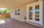 Covered Patio/French Doors